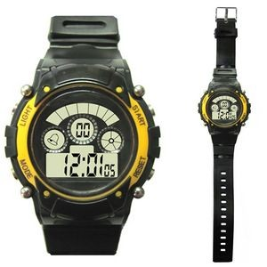 LCD Sports Watch